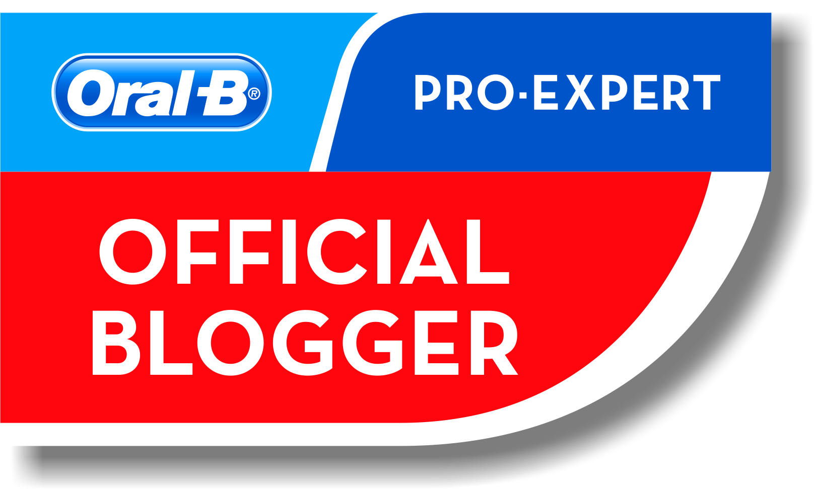 Oral B Pro Expert Blogger badge – selected